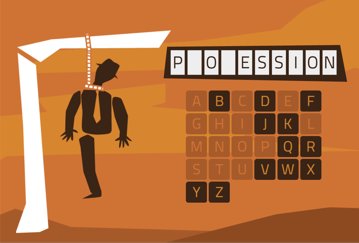 Exercises for improving language - hangman